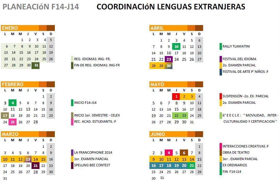 calendario f14j14